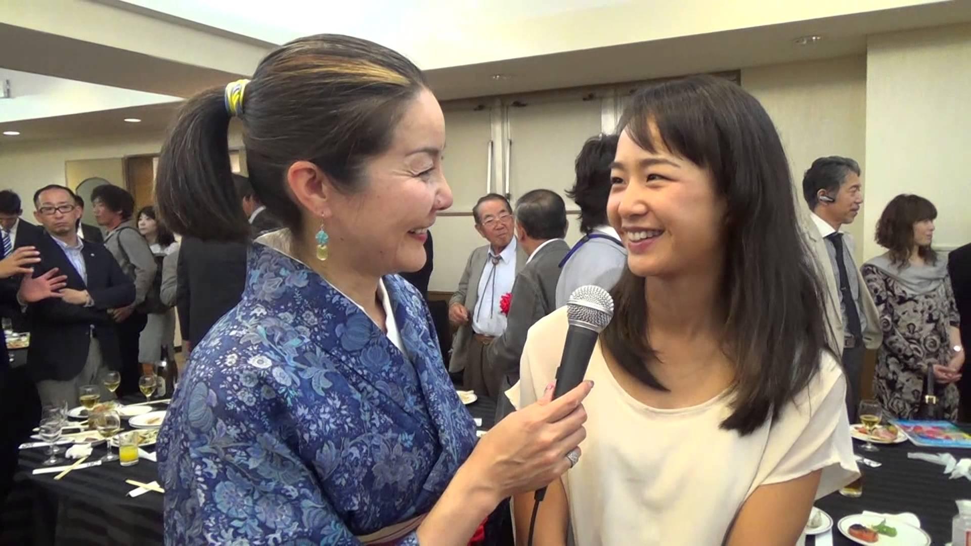 女子テニス美濃越舞選手インタビュー