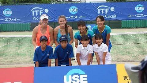 【怒涛の決勝戦】久留米市ユー・エス・イーカップ 国際女子テニス